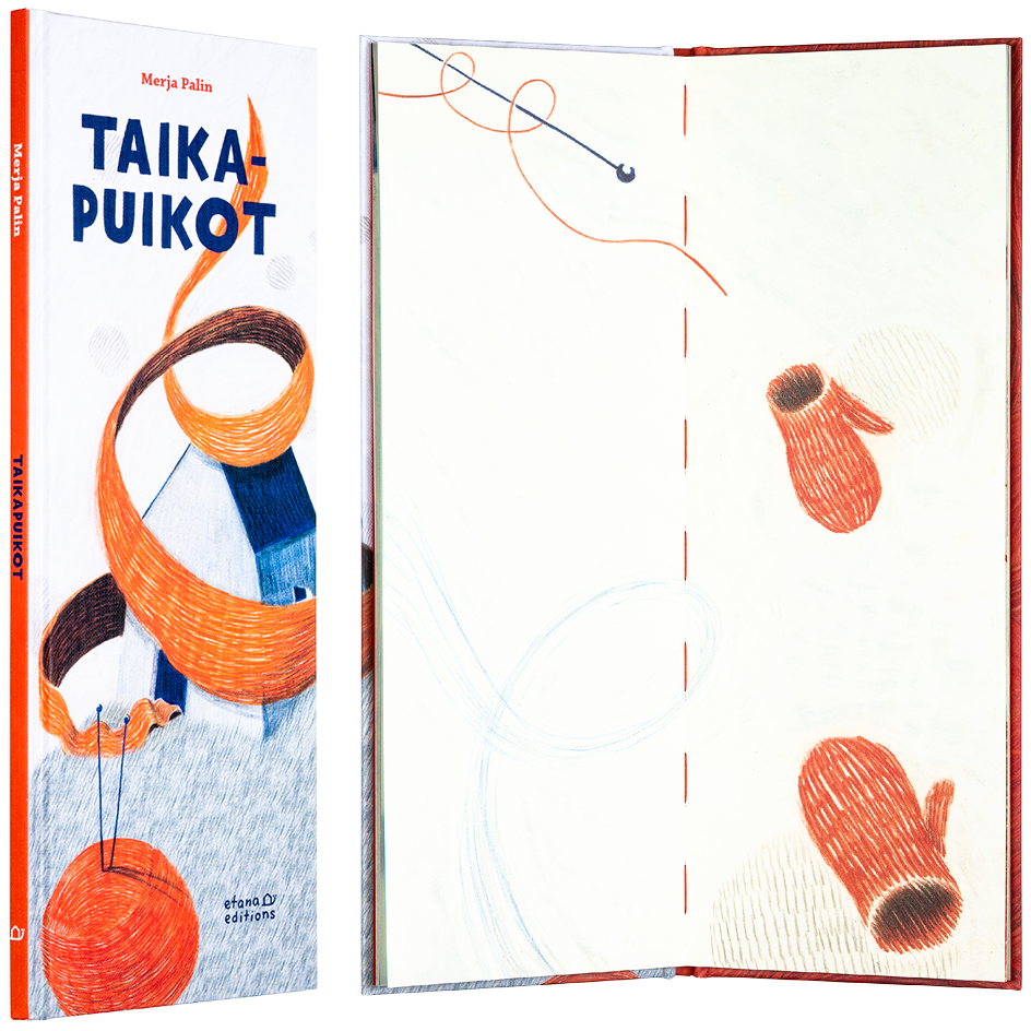 A cover of the book Taikapuikot.