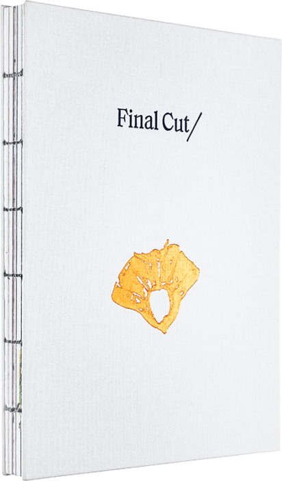 A cover of the book  Final Cut/.