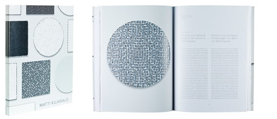 A cover and a spread of the book Matti Kujasalo.