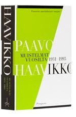 A cover of the book Muistelmat vuosilta 1931-1995.