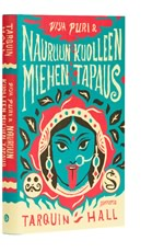 A cover of the book Vish Puri & Nauruun kuolleen miehen tapaus.