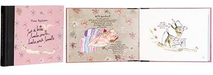 A cover and a spread of the book Jos lintu ei laula sinulle, laula sinä linnulle.