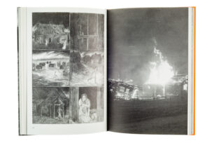 A cover and a spread of the book Kannas.