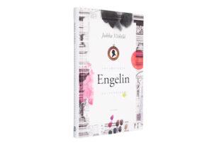A cover and a spread of the book Akvarelleja Engelin kaupungista.