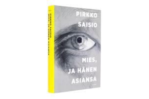 A cover and a spread of the book Mies, ja hänen asiansa.
