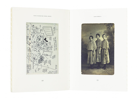 A cover and a spread of the book Imperfect.