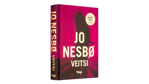 A cover and a spread of the book Veitsi.