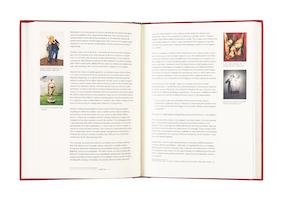 Kansi ja aukeama kirjasta Sick Photography - Representations of Sickness in Art Photography.