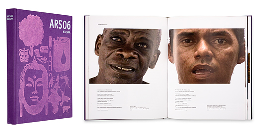 Ett omslag och en öppning av boken Toden tuntu.