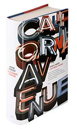 Ett omslag av boken California avenue.