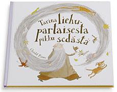 Kansi ja aukeama kirjasta Tarina liehupartaisesta pikku sedästä.