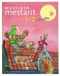 Ett omslag av boken Musiikin mestarit 1–2.