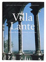 Ett omslag av boken Villa Lante, Finlands Rominstitut 1954–2004.