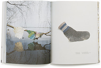 A cover and a spread of the book Anu Tuominen.